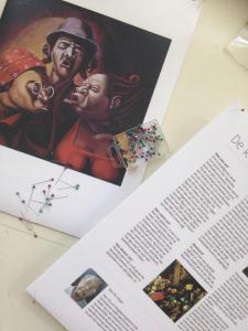 Presentatiemateriaal 50 Surinaamse kunstschatten