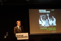 Stijn Schoonderwoerd, directeur van het Nationaal Museum van Wereldculturen