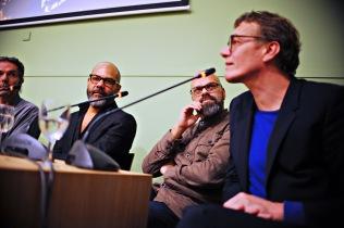 Vlnr: Remy Jungerman, Bart Krieger, Jelle Bouwhuis